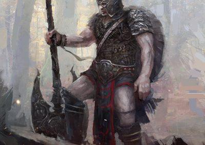 The Darkslayer, Cover Art, Series 2, book 2, Black Blood