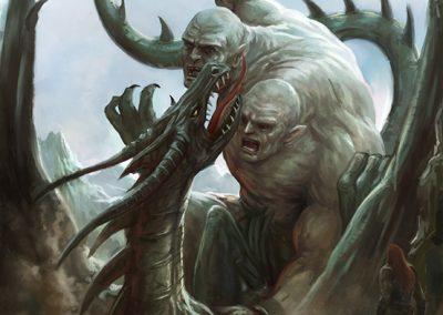 COD Series 2, Nath Dragon Cover artwork by Joe Shawcross