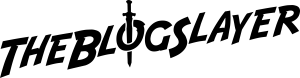 the Blog Slayer text logo black