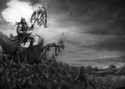 The Darkslayer battles the Underlings