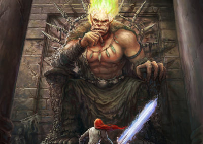 Eckubahn the Titan from Judgment of the Dragon, Book 8 from Tail of the Dragon Series,