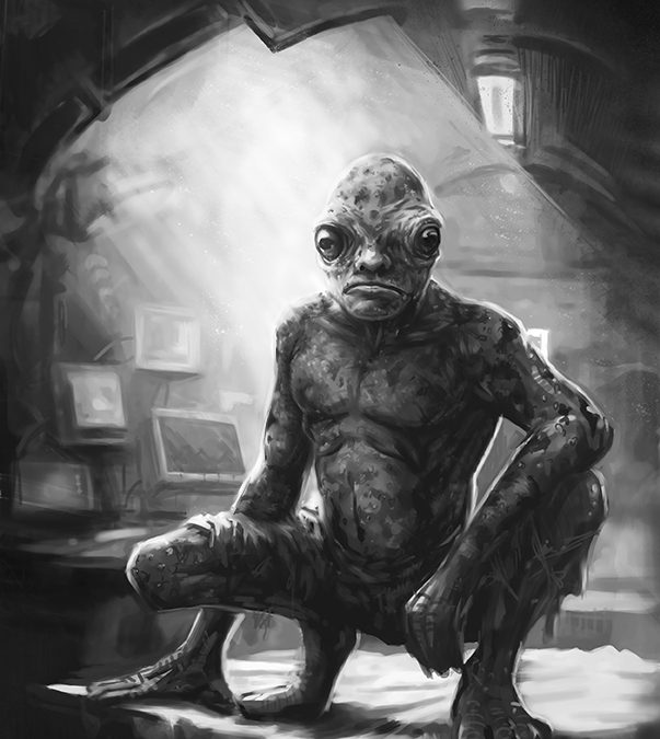 Toadman from The Supernatural Bounty Hunter Files, Book #8