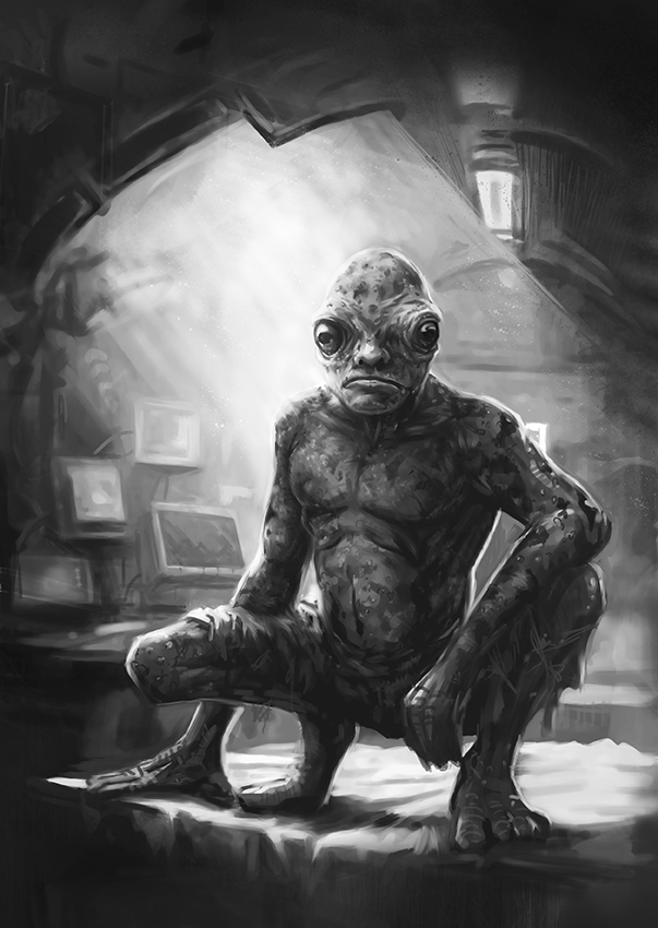 Toadman From The Supernatural Bounty Hunter Files Book 8