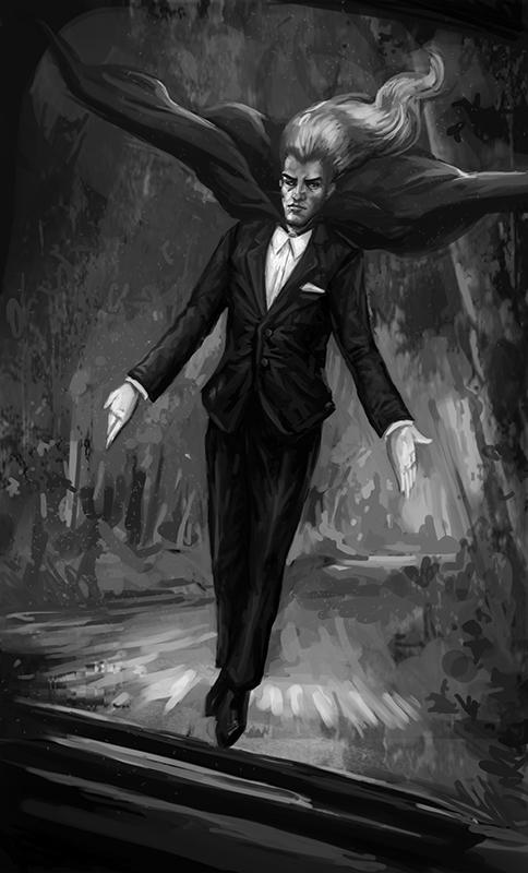 Vormus the Vampire-Shifter from The Supernatural Bounty Hunter Files