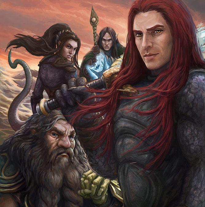 Hour of the Dragon: Cover art from Book 10 in Tail of the Dragon Series