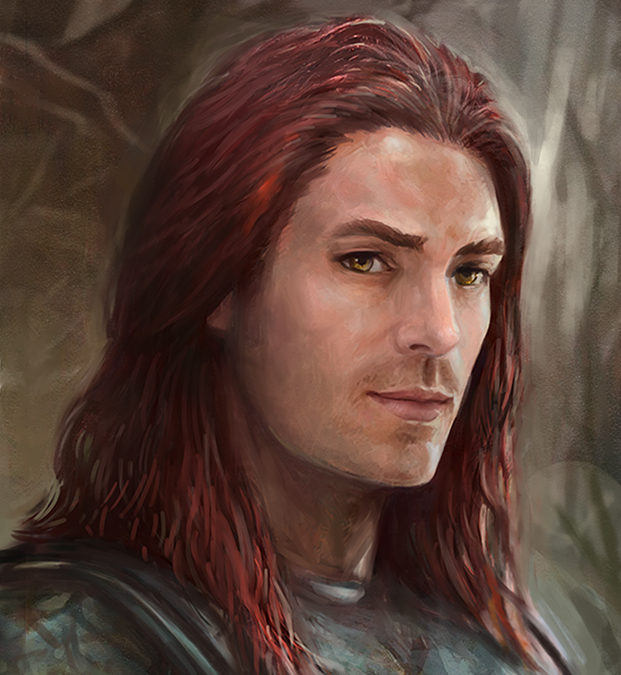 Nath Dragon Portrait from The Chronicles of Dragon