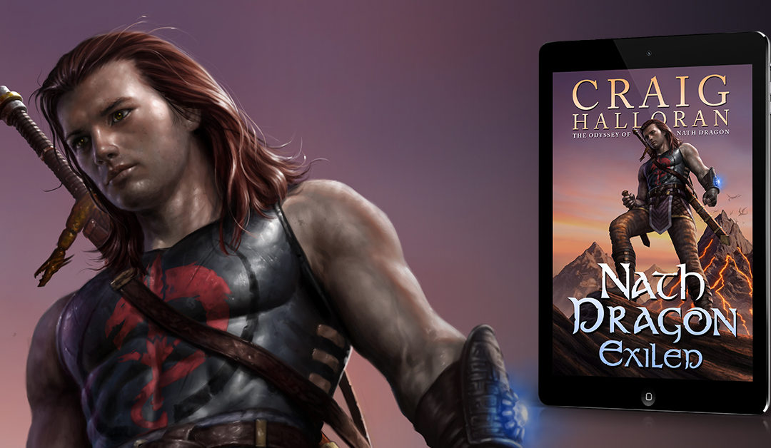 Exiled: The Odyssey of Nath Dragon  – Book 1
