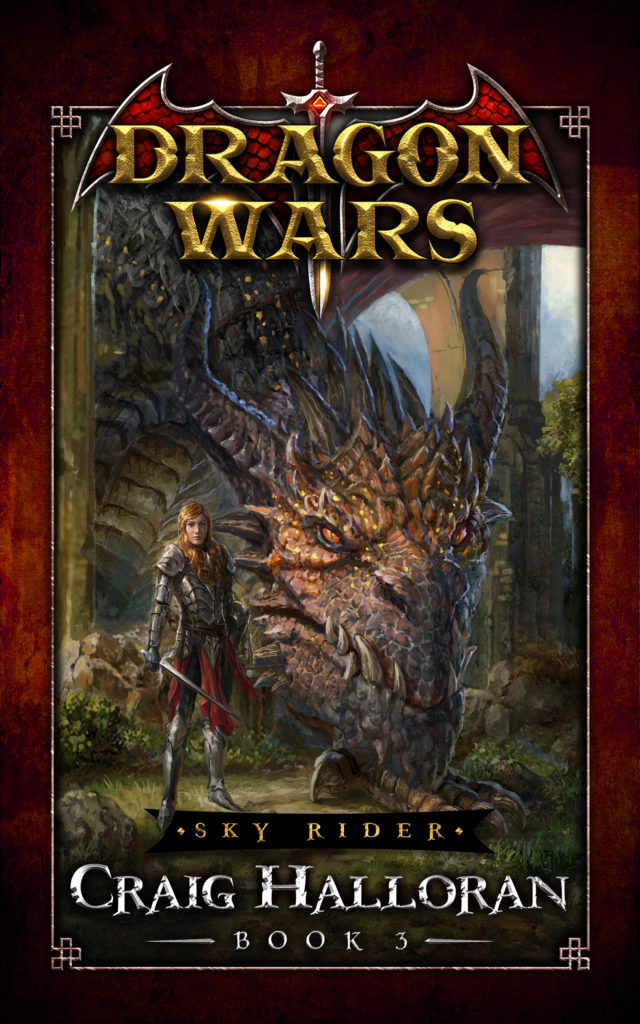 Dragon Wars, teen fantasy books, book 3.