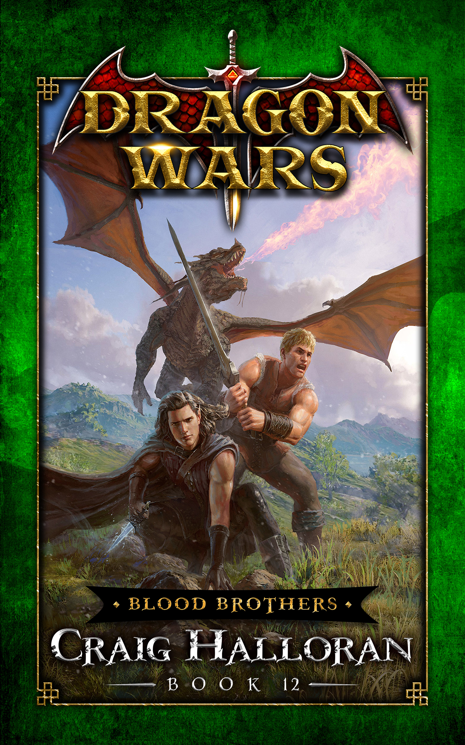 Dragon Wars, teen fantasy books, book 6.